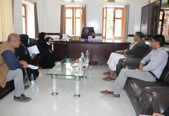 Visit of the Undersecretary of the Ministry of Affairs and Labor of the Yemen Women Union