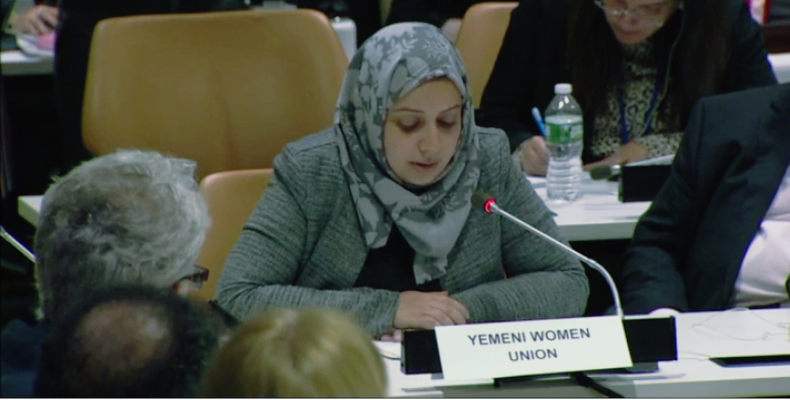 Yemen Women Union Participates in high-level Ministerial event on the humanitarian crisis in Yemen organized by UNGA OCHA.